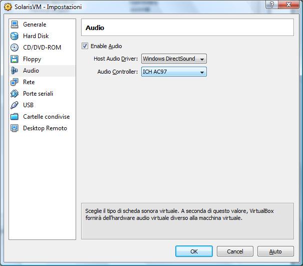 Virtualbox Ich ac97 audio driver
